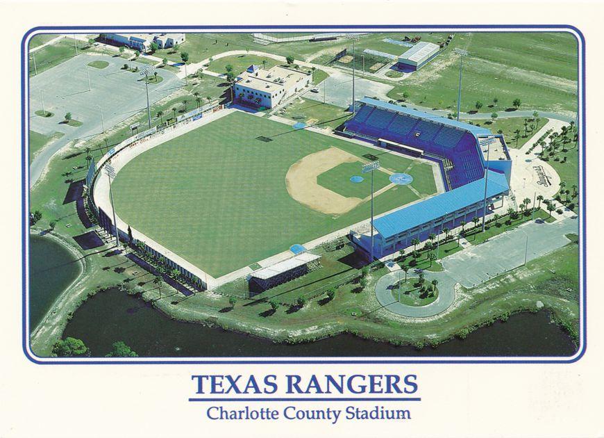 Charlotte County Baseball Stadium, Florida - Spring Home of the Texas Rangers