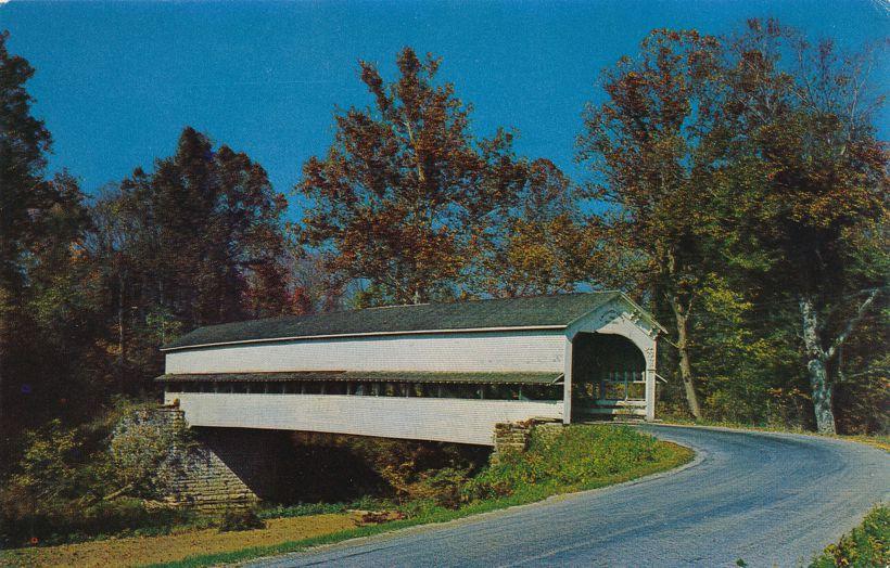 Decatur County, Indiana - Covered Bridge near Westport