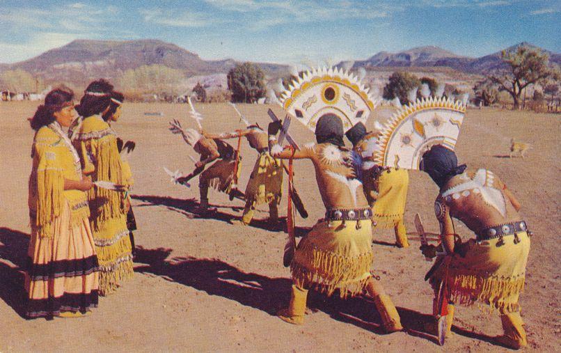 Apache Mountain Spirit Dance - Native American Culture