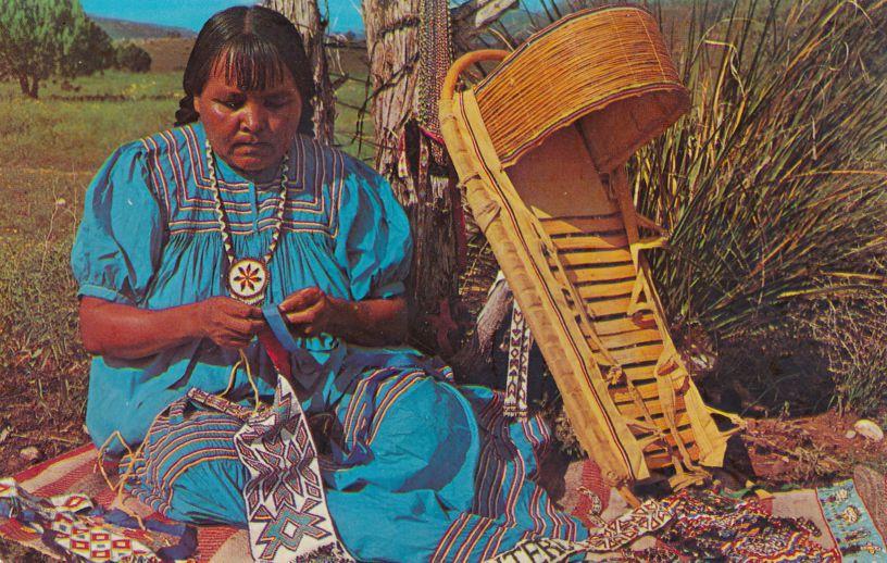 Apache Indian Handicraft Maker - Beads - Native American Culture