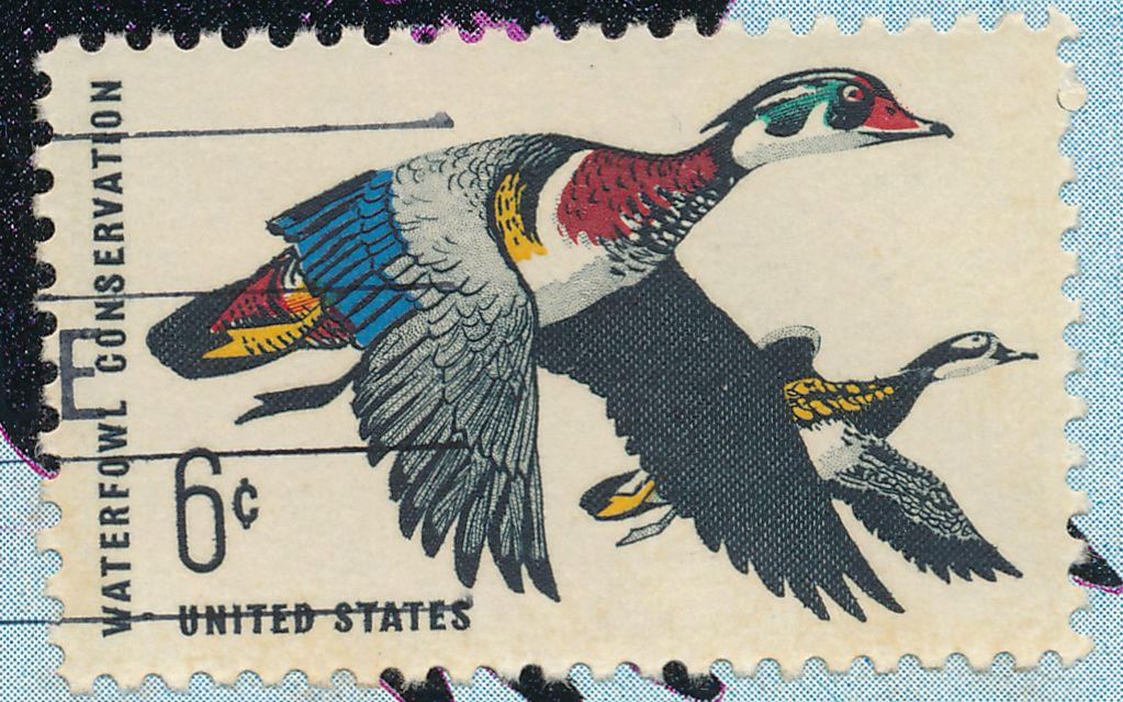 United States sc# 1362 FDC on Colorano Card - Waterfowl Conservation - pm 1968 at Clevlend OH