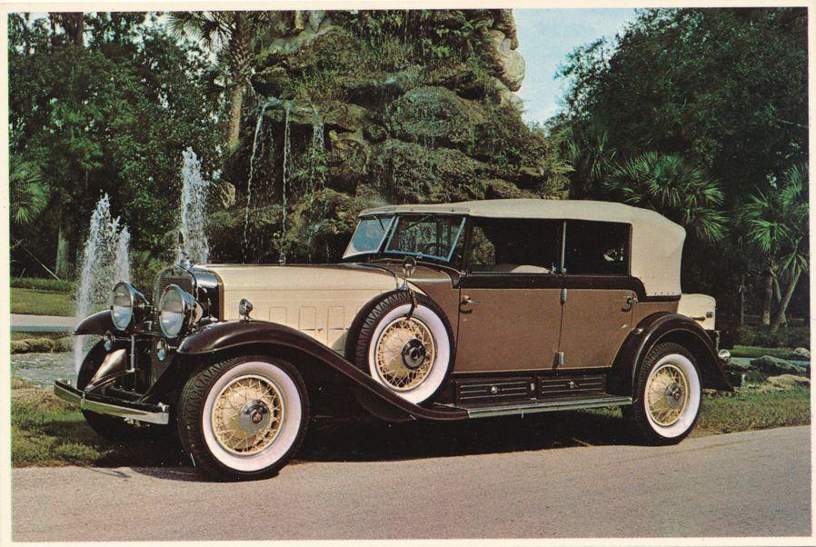 Antique Car - 1930 Cadillac V-16 Phaeton Fleetwood - Silver Springs, Florida