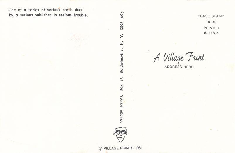 Greetings from Honeoye Falls, New York - Be Brief - Village Print Humor