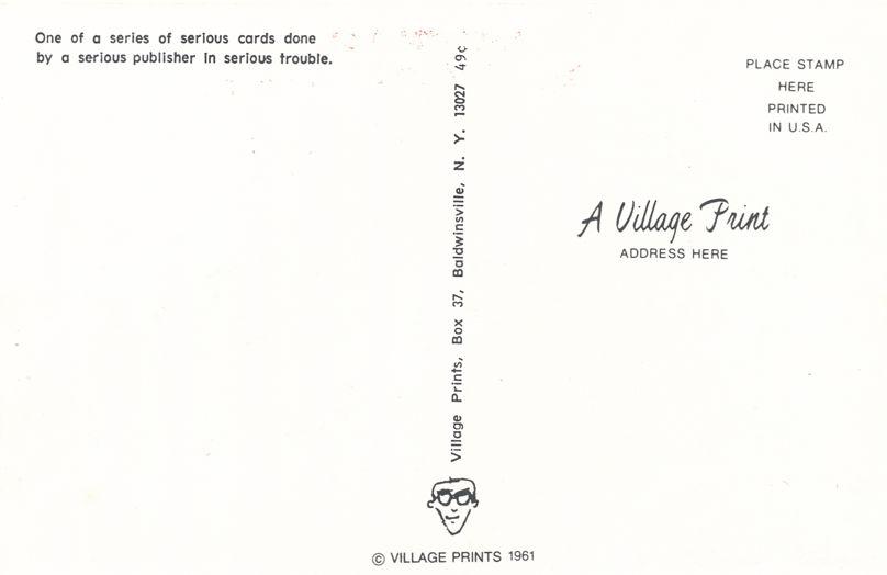 Greetings from Honeoye Falls, New York - John Wayne - Village Print Humor