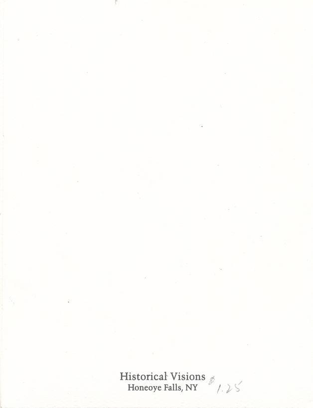 Honeoye Falls, New York - Famous Iron Fireman - Note Card- Ephemera