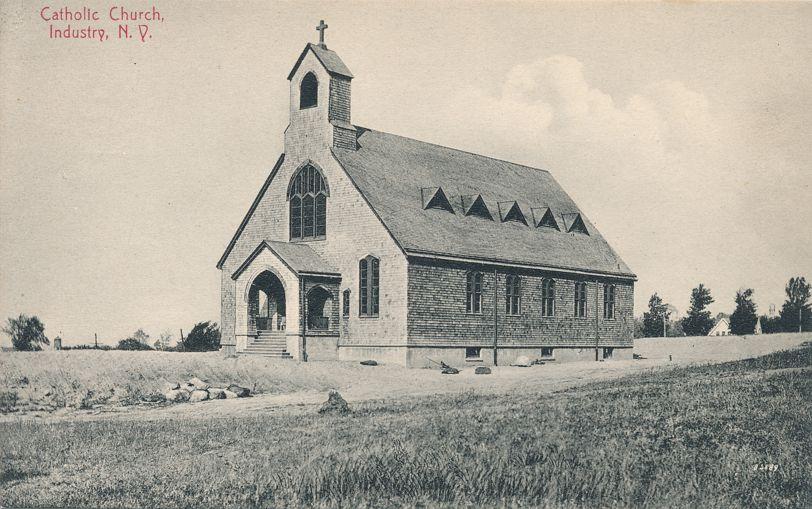 Catholic Church - Industry Secure School near Rush, New York