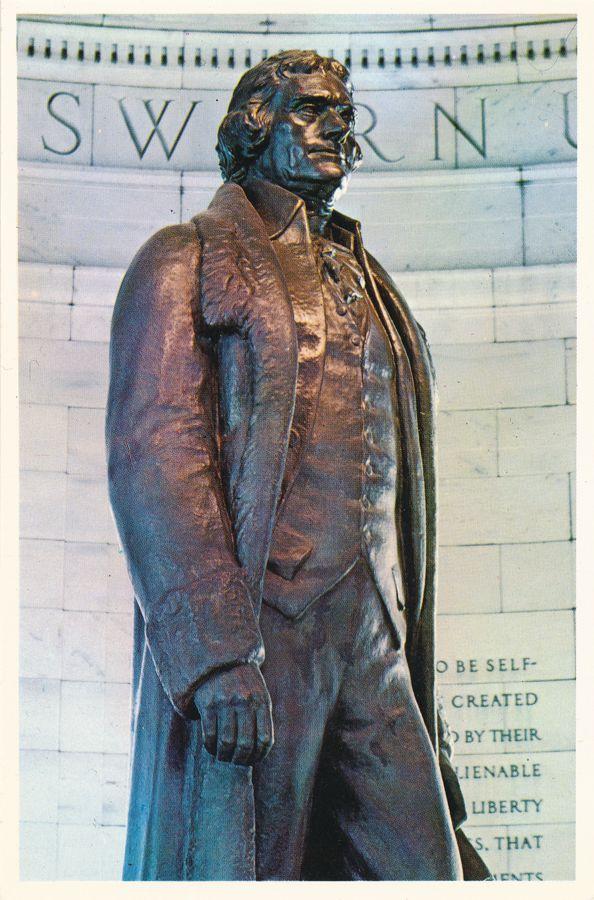 President Thomas Jefferson Statue - Washington, DC