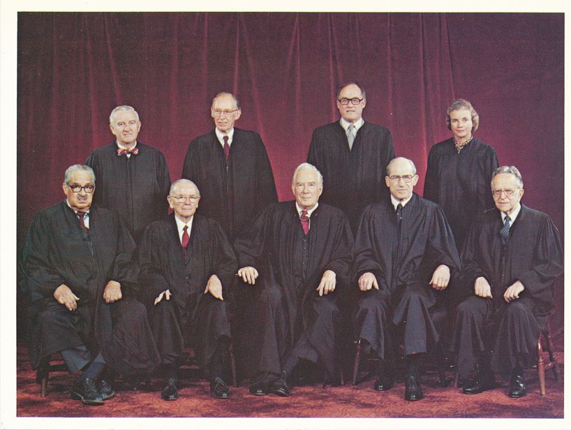 Supreme Court Justices, Washington, DC - From Thurgood Marshall to Sandra Day O'Connor