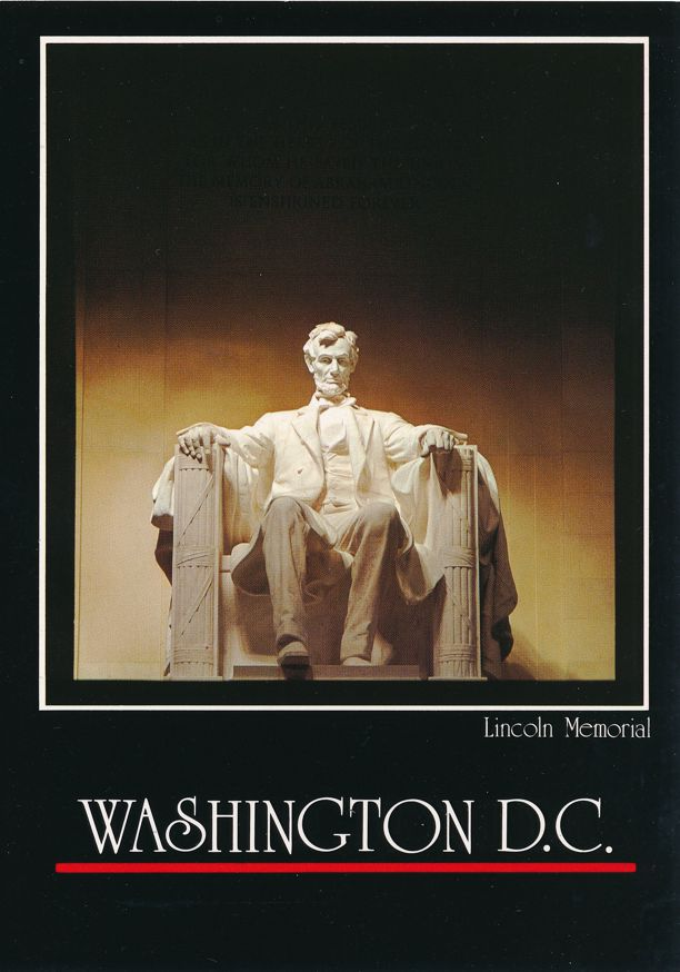 President Abraham Lincoln Memorial, Washington, DC