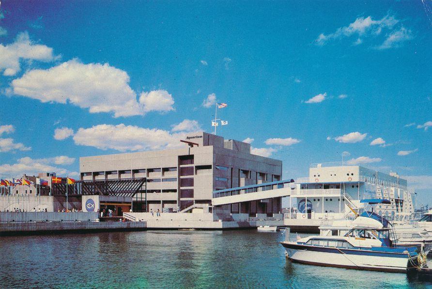 New England Aquarium - Central Wharf, Boston, Massachusetts