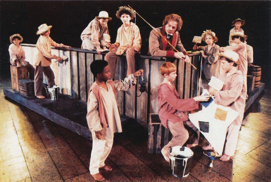 Tom and Friends White-Washing Fence - Mark Twain Musical Elmira NY