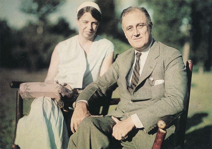 President Franklin Roosevelt and Eleanor Roosevelt