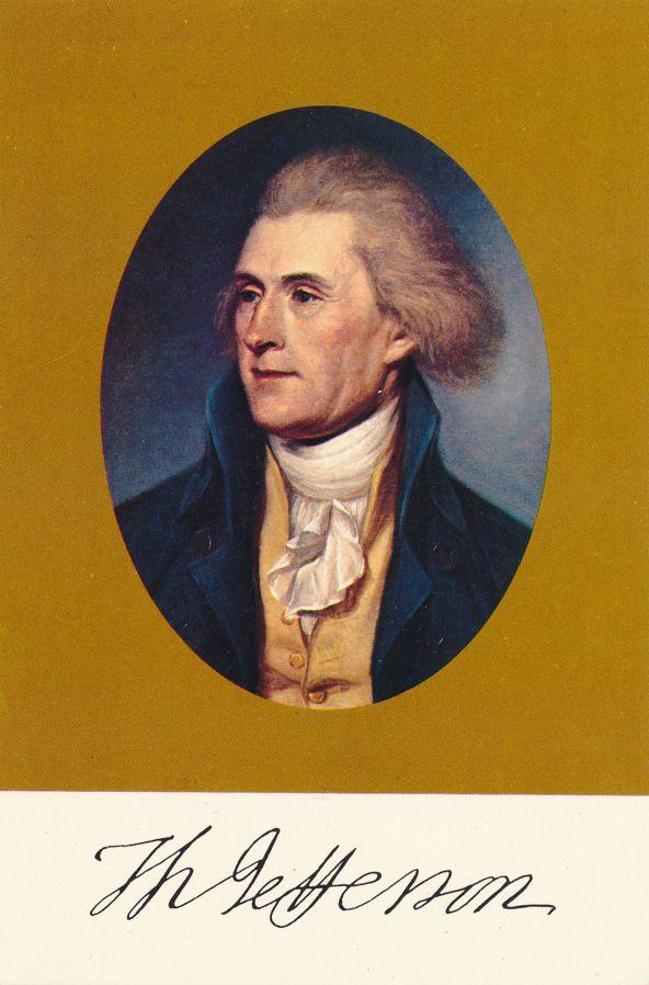 President Thomas Jefferson - Author of Decoration of Indepence