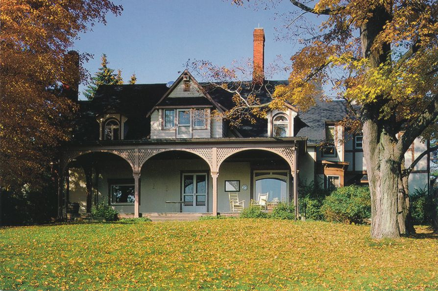 Elmira, New York - Quarry Farm - Summer Home of Mark Twain