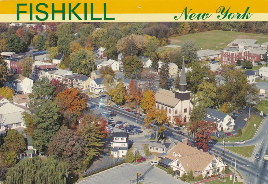 Aerial View of Fishkill, New York