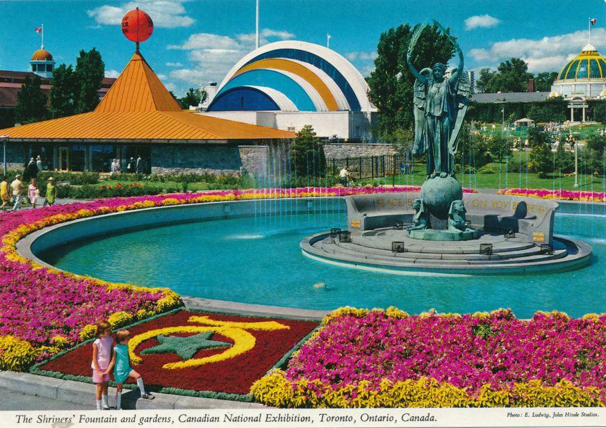 Toronto, Ontario, Canada - Canadian National Exhibition - Shriners' Fountain