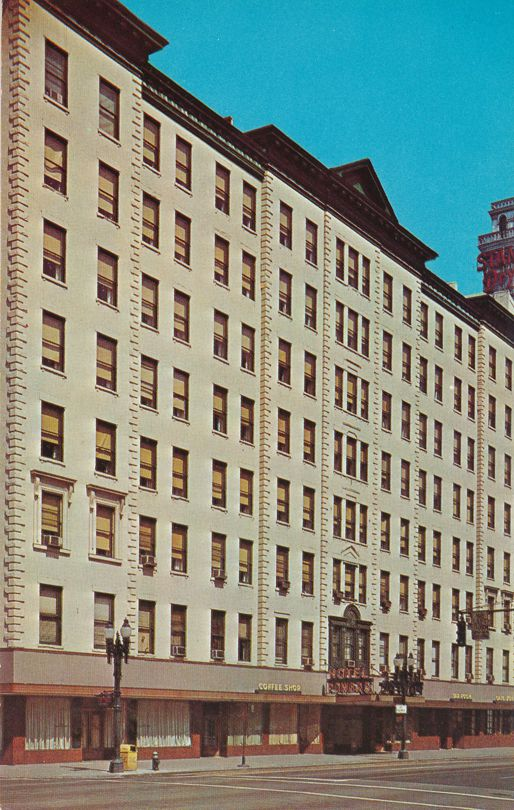 Rochester, New York - Powers Hotel at West Main and Fitzhugh