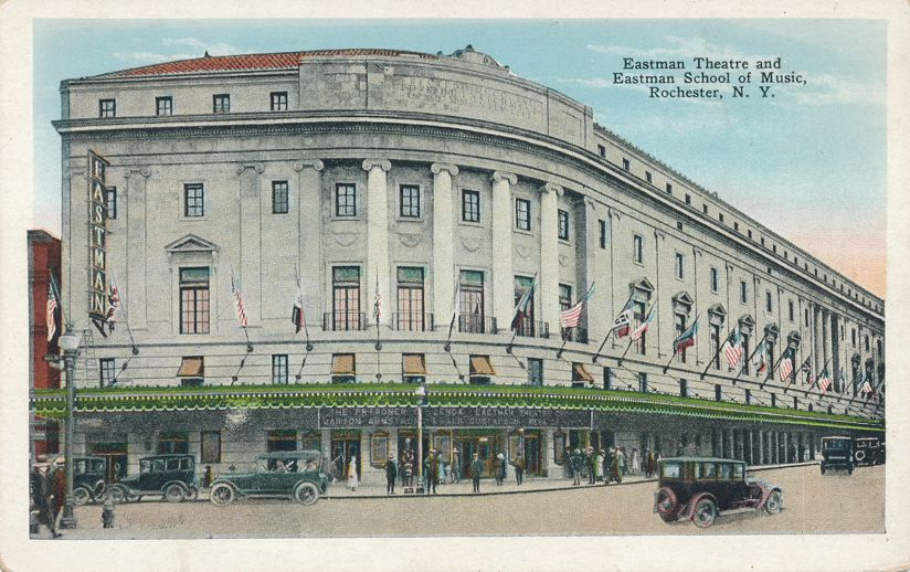 Eastman Theatre School of Music - Rochester, New York - Theater - White Border