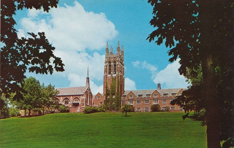 Colgate Divinity School on South Goodman St - Rochester, New York
