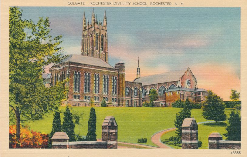 Rochester, New York - Colgate-Rochester School of Divinity - Linen Card