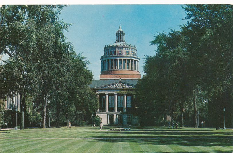 - University of Rochester, New York - Rush Rhees Library
