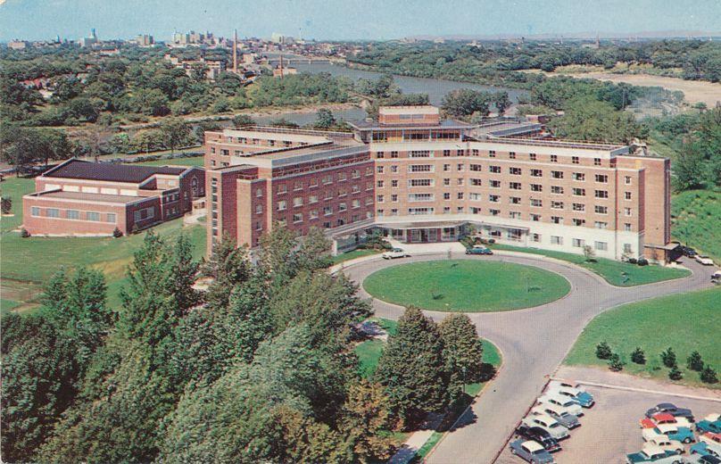 Aerial View Women's Residence Hall - University of Rochester, New York