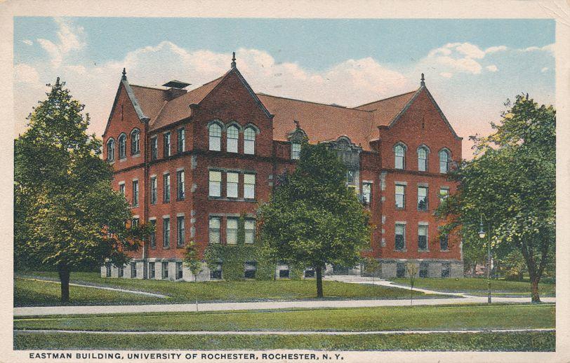 Eastman Building at University of Rochester, New York - pm 1916 - White Border