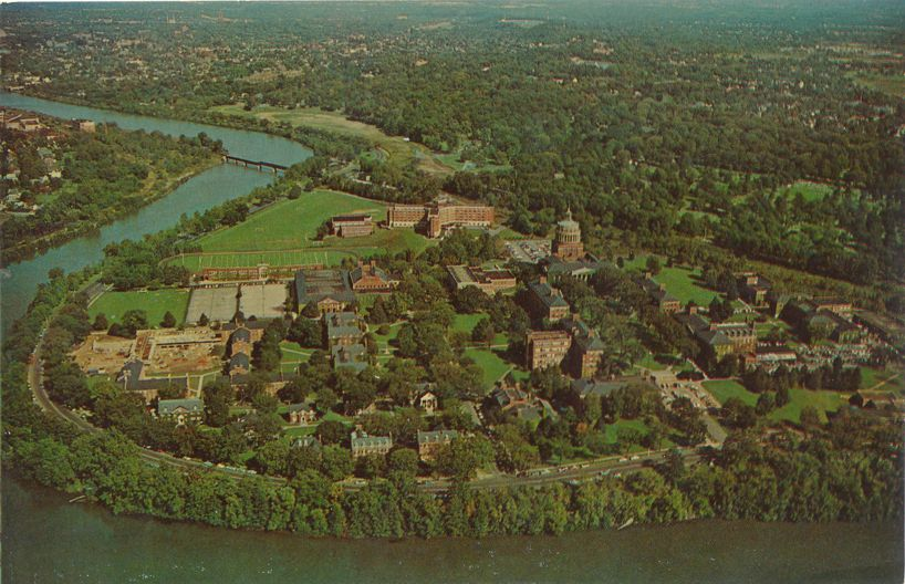University of Rochester, New York along the Genesee River