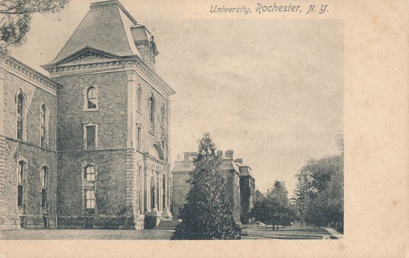 Buildings at University of Rochester, New York - Undivided Back
