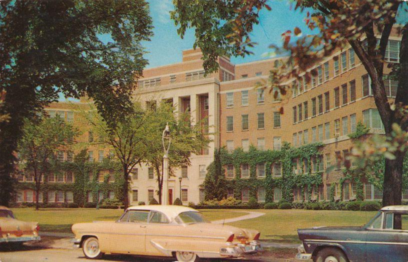 Rochester Medical School Entrance - Rochester, New York - pm 1965 at Vineland NJ
