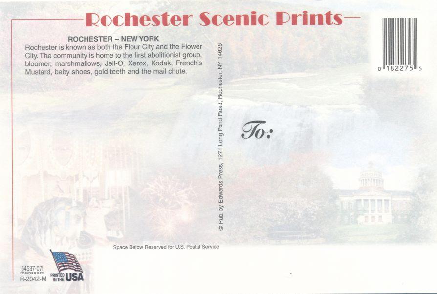 Rochester, New York Multiview of Rochester Hot Spots
