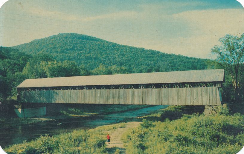 Greetings from Middleburgh, New Yorka - Blenheim Covered Bridge