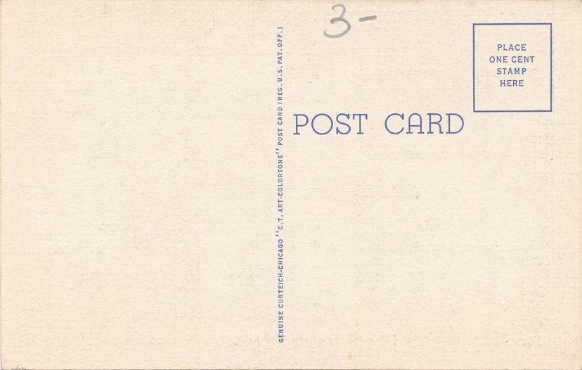 Corpus Christi, Texas - Yacht Basin - Linen Card
