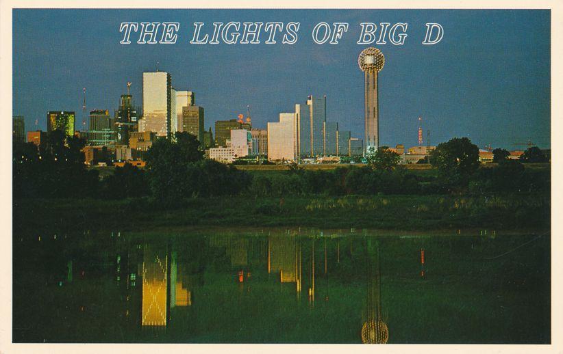 The Lights of Big D - Dallas Skyline After Dark - Dallas, Texas