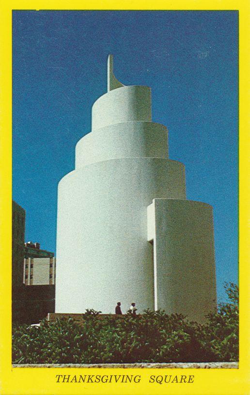 Spiral of Life Chapel at Thanksgiving Square - Dallas, Texas
