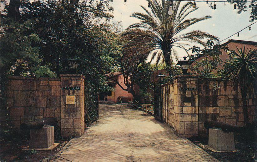 Entrance to La Villita Historic Arts Village - San Antonio, Texas