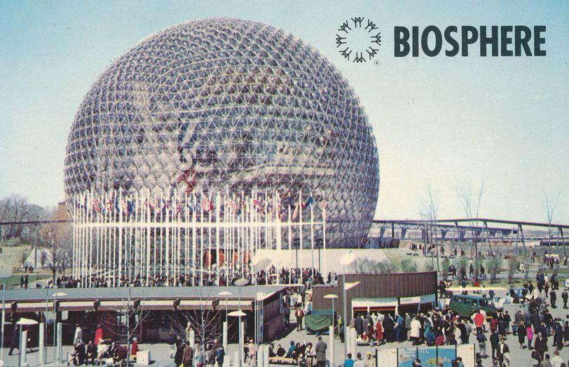 Montreal, Quebec, Canada - Biosphere on Ile Sainte-Helene