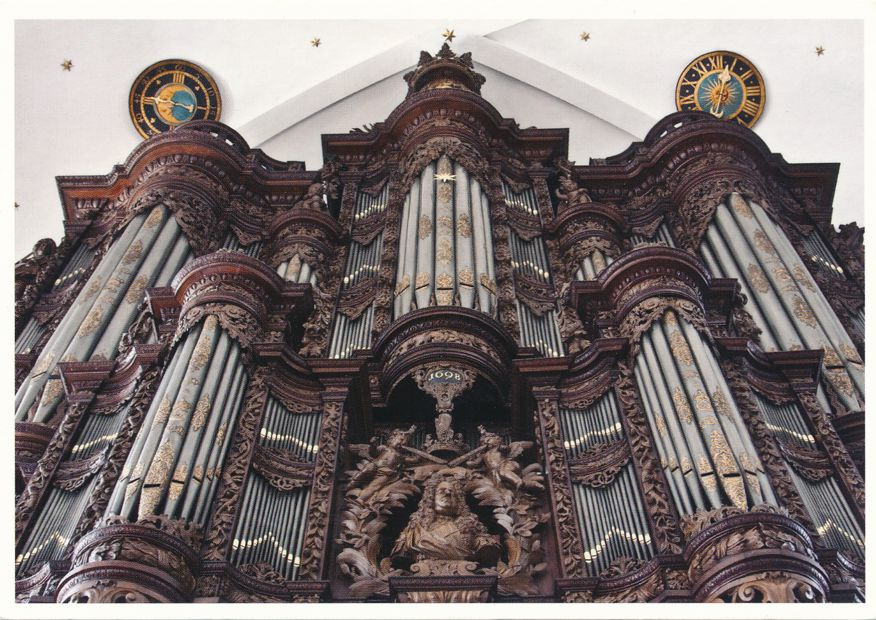Organ Pipes at Our Saviour's Church - Vor Frelsesrs Kirke - Copenhagen, Denmark