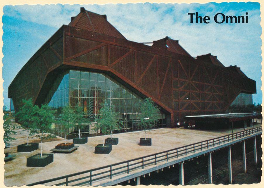 Atlanta, Georgia - The Omni Coliseum - The Flames Hockey - Hawks NBA