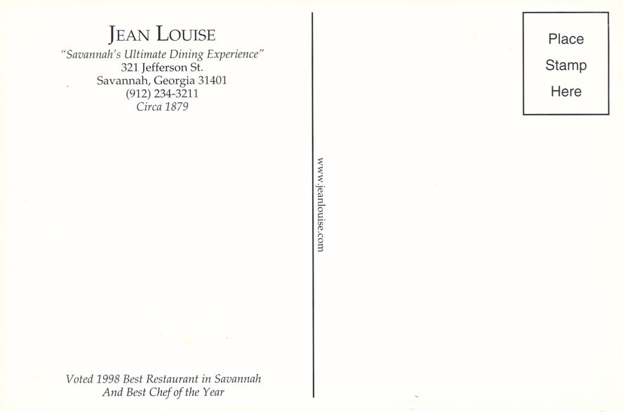 Jean Louise Restaurant - Ultimate Dining Experience - Savannah, Georgia