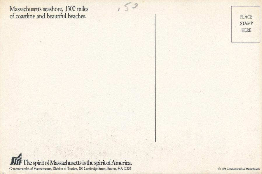 Seashore of Massachusetts - 1500 Miles of coastline and beaches