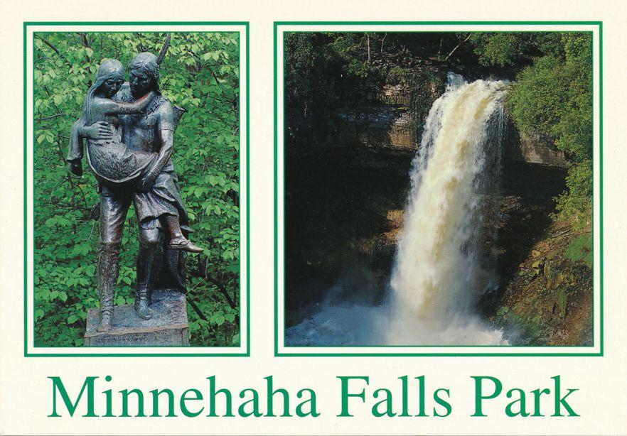 Minneapolis, Minnesota - Minnehaha Falls Park