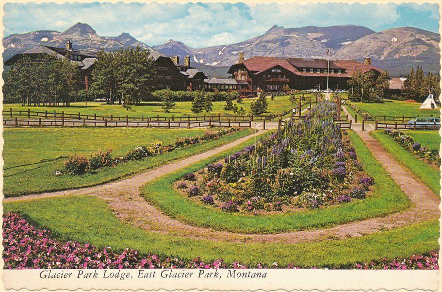 East Glacier Park, Montana -Rustic Glacier Park Lodge