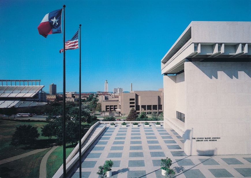 Austin, Texas - President Lyndon Baines Johnson LBJ Library