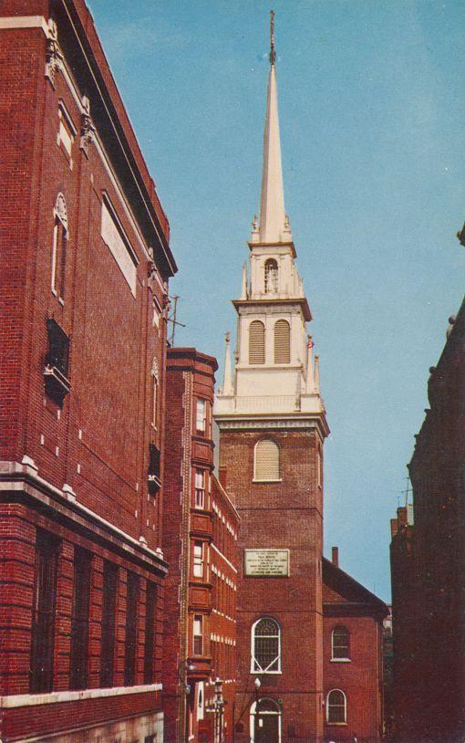 Boston, Massachusetts - The Old North Church on Salem Street