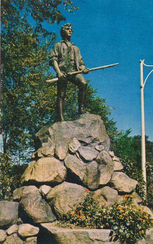 Lexington, Massachusetts - Captain Parker Statue - Commander of Minute Men