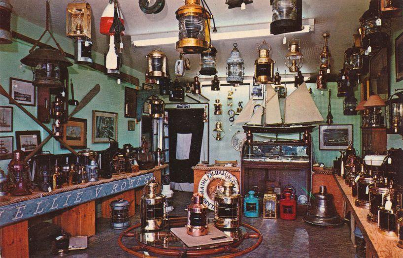 Chatham, Cape Cod, Massachusetts - Marine Antiques Store
