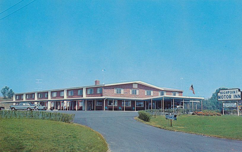 Chicopee Falls, Massachusetts - Highpoint Motor Inn Motel and Restaurant
