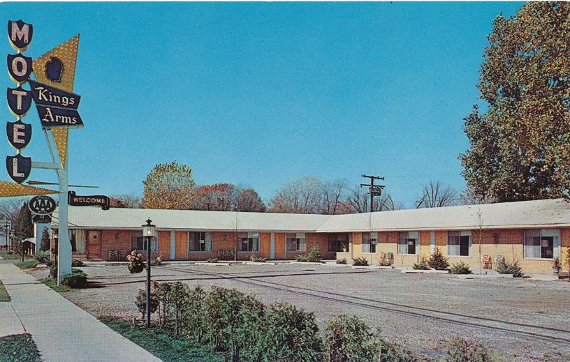 Dearborn, Michigan - Kings Arms Motel