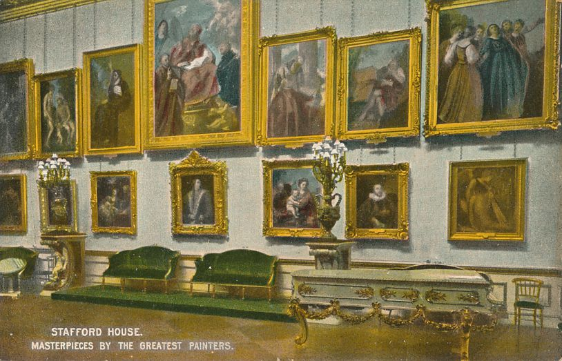 Stafford House, London, United Kingdom - Masterpieces by the Greatest Painters - Divided Back